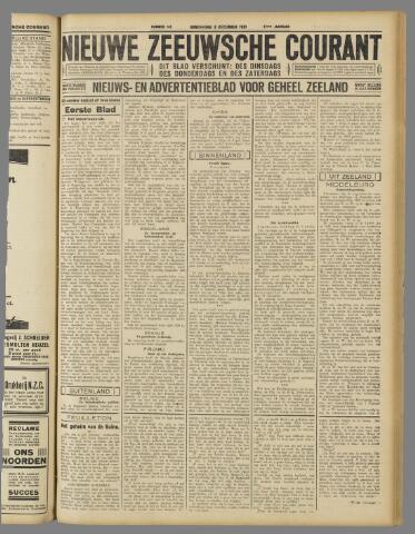 Nieuwe Zeeuwsche Courant 1931-12-03