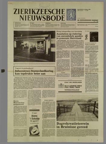 Zierikzeesche Nieuwsbode 1984-04-09