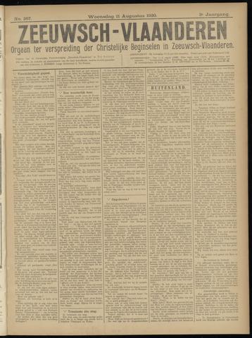 Luctor et Emergo. Antirevolutionair nieuws- en advertentieblad voor Zeeland / Zeeuwsch-Vlaanderen. Orgaan ter verspreiding van de christelijke beginselen in Zeeuwsch-Vlaanderen 1920-08-11