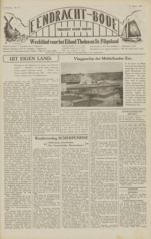 Eendrachtbode (1945-heden)/Mededeelingenblad voor het eiland Tholen (1944/45) 1949-03-11