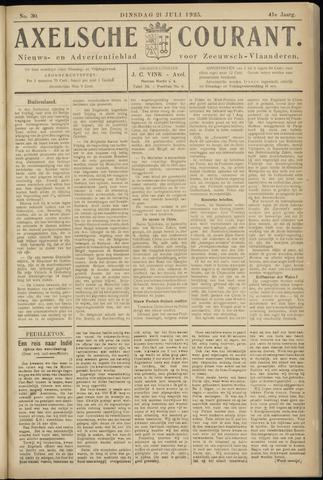 Axelsche Courant 1925-07-21
