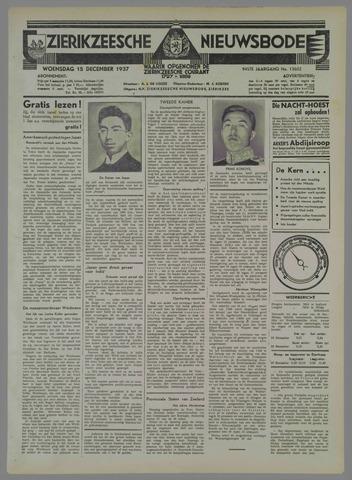 Zierikzeesche Nieuwsbode 1937-12-15