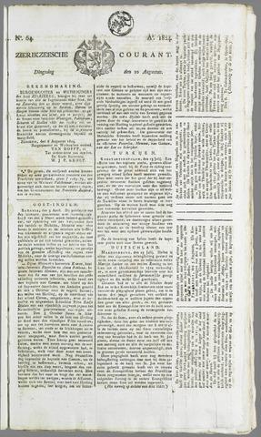 Zierikzeesche Courant 1824-08-10