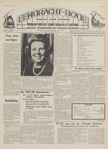 Eendrachtbode (1945-heden)/Mededeelingenblad voor het eiland Tholen (1944/45) 1969-01-30