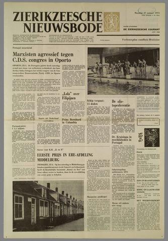 Zierikzeesche Nieuwsbode 1975-01-27