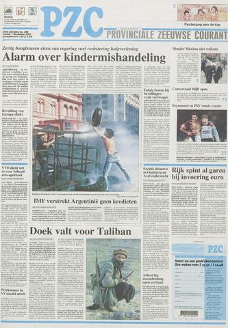 Provinciale Zeeuwse Courant 2001-12-07