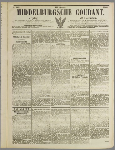 Middelburgsche Courant 1905-12-22