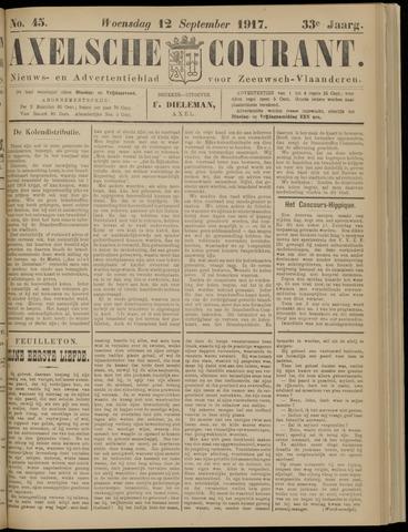 Axelsche Courant 1917-09-12