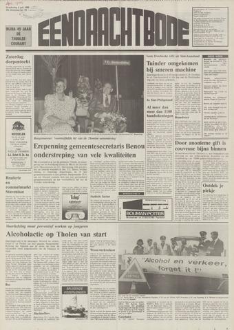 Eendrachtbode (1945-heden)/Mededeelingenblad voor het eiland Tholen (1944/45) 1989-07-06