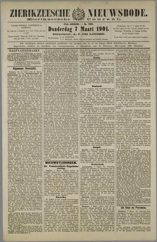 Zierikzeesche Nieuwsbode 1901-03-07