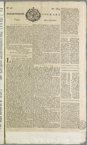 Zierikzeesche Courant 1814-12-02