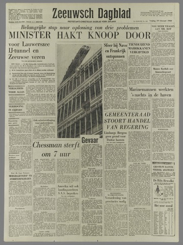 Zeeuwsch Dagblad 1960-02-19
