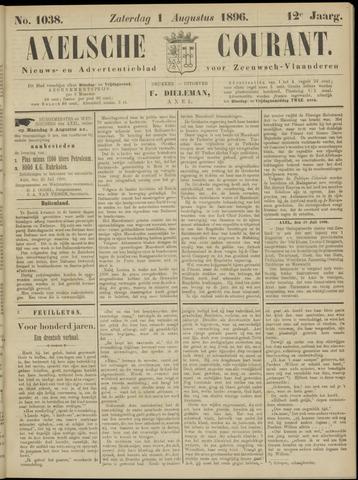 Axelsche Courant 1896-08-01