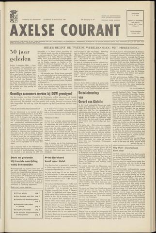 Axelsche Courant 1969-08-30