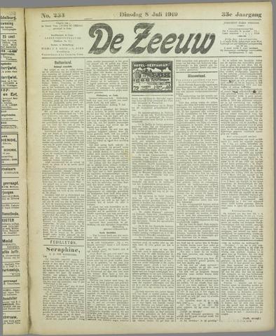 De Zeeuw. Christelijk-historisch nieuwsblad voor Zeeland 1919-07-08