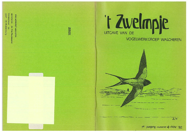 't Zwelmpje 1992-11-01
