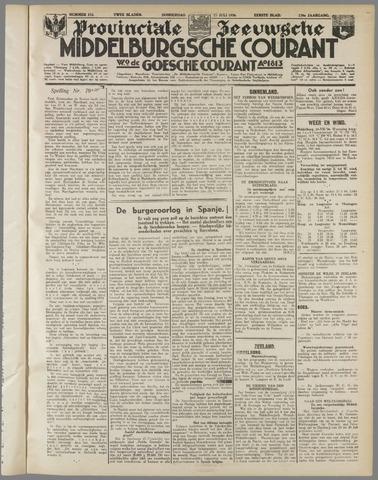 Middelburgsche Courant 1936-07-23
