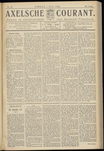 Axelsche Courant 1930-07-01