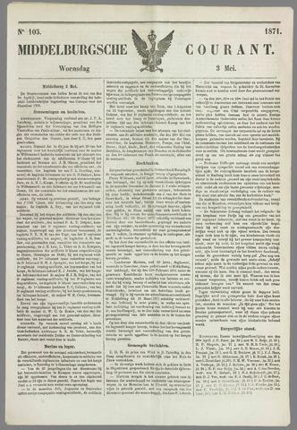 Middelburgsche Courant 1871-05-03