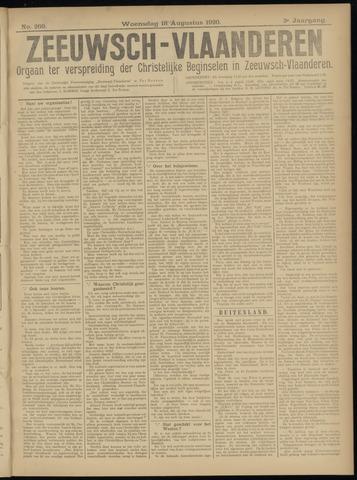 Luctor et Emergo. Antirevolutionair nieuws- en advertentieblad voor Zeeland / Zeeuwsch-Vlaanderen. Orgaan ter verspreiding van de christelijke beginselen in Zeeuwsch-Vlaanderen 1920-08-18