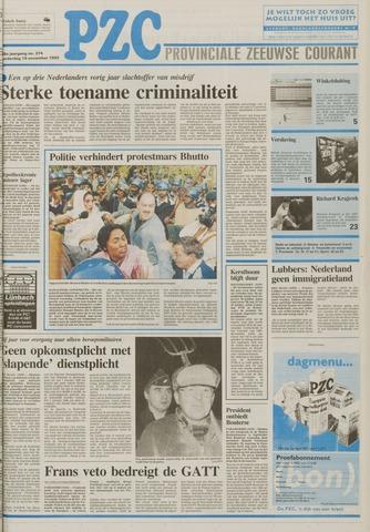 Provinciale Zeeuwse Courant 1992-11-19