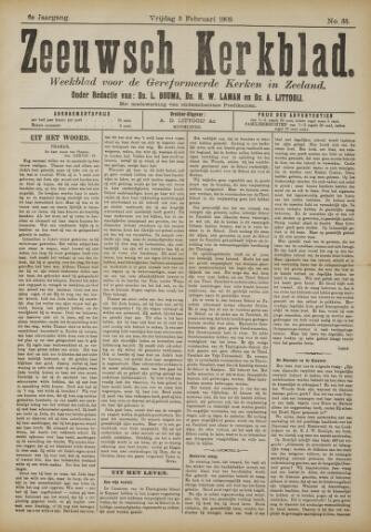 Zeeuwsche kerkbode, weekblad gewijd aan de belangen der gereformeerde kerken/ Zeeuwsch kerkblad 1909-02-05