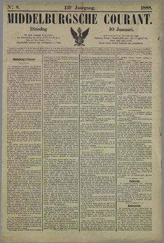 Middelburgsche Courant 1888-01-10