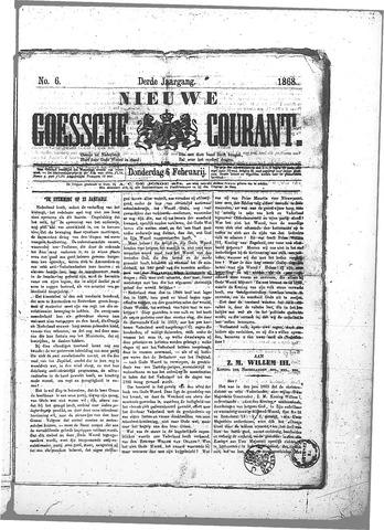 Nieuwe Goessche Courant 1868-02-06