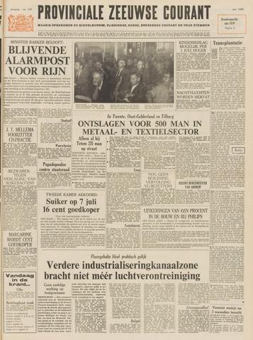 Provinciale Zeeuwse Courant 1969-06-27
