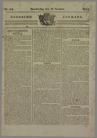 Goessche Courant 1844-10-17