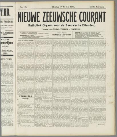 Nieuwe Zeeuwsche Courant 1905-10-10