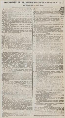 Middelburgsche Courant 1834-04-24