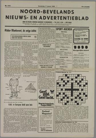 Noord-Bevelands Nieuws- en advertentieblad 1985-01-17