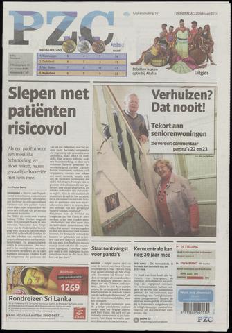 Provinciale Zeeuwse Courant 2014-02-20