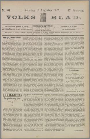 Volksblad 1922-08-12