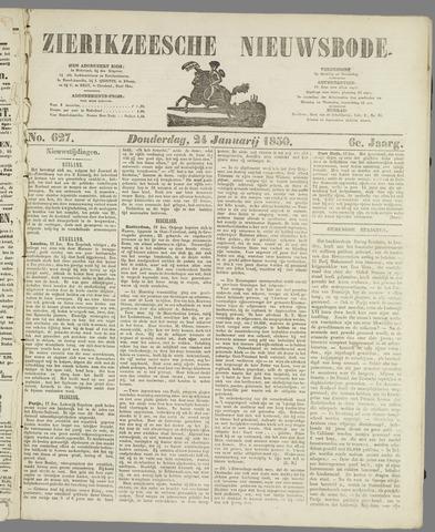 Zierikzeesche Nieuwsbode 1850-01-24