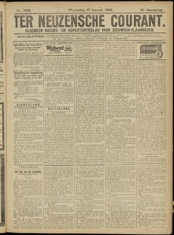 Ter Neuzensche Courant. Algemeen Nieuws- en Advertentieblad voor Zeeuwsch-Vlaanderen / Neuzensche Courant ... (idem) / (Algemeen) nieuws en advertentieblad voor Zeeuwsch-Vlaanderen 1926-01-27