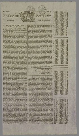 Goessche Courant 1820-01-10