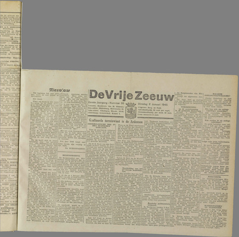 de Vrije Zeeuw 1945-01-02
