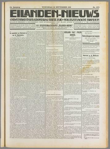 Eilanden-nieuws. Christelijk streekblad op gereformeerde grondslag 1939-09-20