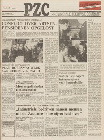 Provinciale Zeeuwse Courant 1975-02-07