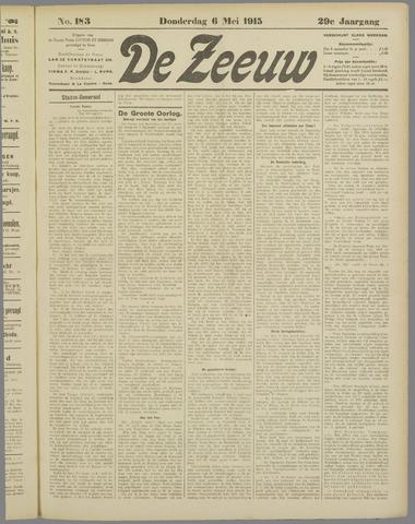 De Zeeuw. Christelijk-historisch nieuwsblad voor Zeeland 1915-05-06