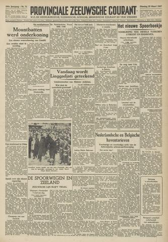 Provinciale Zeeuwse Courant 1947-03-25
