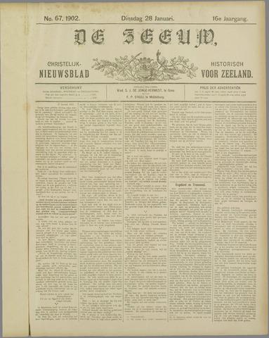 De Zeeuw. Christelijk-historisch nieuwsblad voor Zeeland 1902-01-28