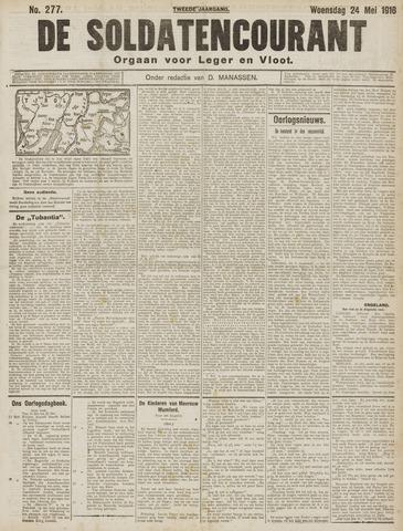 De Soldatencourant. Orgaan voor Leger en Vloot 1916-05-24