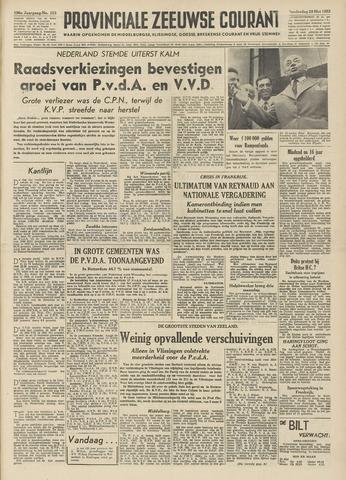 Provinciale Zeeuwse Courant 1953-05-28