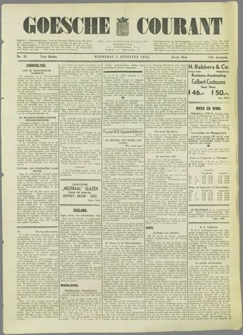 Goessche Courant 1932-08-03