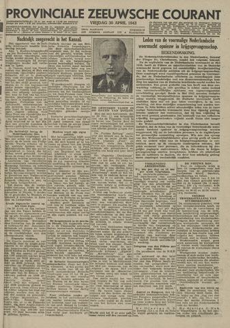 Provinciale Zeeuwse Courant 1943-04-30