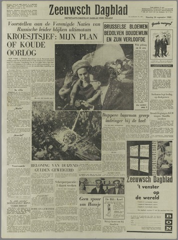 Zeeuwsch Dagblad 1960-09-26