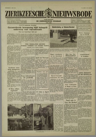 Zierikzeesche Nieuwsbode 1958-05-08